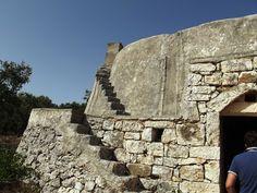 Group of trulli in Ostuni