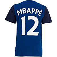 Paul Pogba Equipe de FRANCE de football T-Shirt FFF Collection Officielle Taille Enfant gar/çon