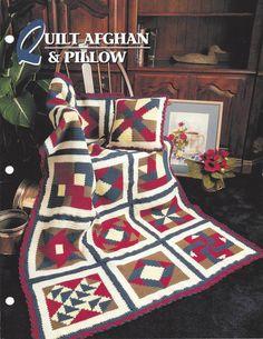 👲 Coberta Acolchoada Afegão e Colchões Travesseiro Malha Crochet Itens Decorativos Criações -   /  👲 Quilt Afghan And Pillow Crochet  Knit Knacks Creations -                                                                                                                                                                                 Mais