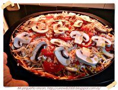Mi pequeño rincon: Masa de pizzas