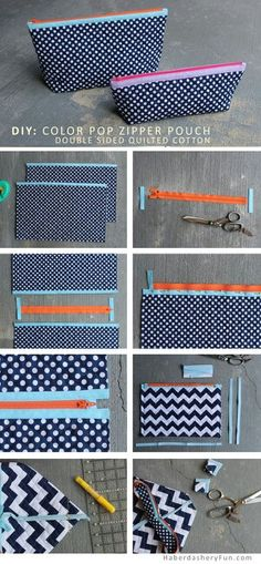 Learn to Sew at Jenny's Sewing Studio. Learn to put in a zipper as you take your… Learn to Sew at Jenny's Sewing Studio. Learn to put in a zipper as you take your first lesson. Sewing Hacks, Sewing Tutorials, Sewing Crafts, Sewing Projects, Sewing Patterns, Tutorial Sewing, Bag Tutorials, Fabric Crafts, Diy Crafts