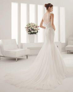 8B104 PAGGY | Wedding Dresses | 2015 Collection | Alma Novia (back)