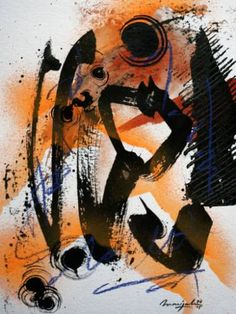"Saatchi Art Artist Marijah Bac Cam; Painting, ""InkPulse For Winter ~III~"" #art"