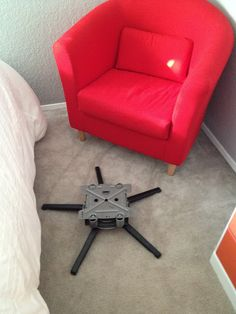 Butler Life: Ikea Chair to Rocking Chair - another take on hacking a rocking chair
