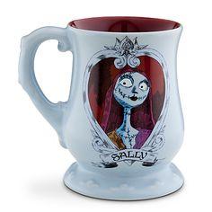 Sally Nightmare Before Christmas Disney cup Sally Nightmare Before Christmas, Jack Skellington, Disney Tassen, Disney Coffee Mugs, Disney Cups, Jack And Sally, Cool Mugs, Disney Merchandise, Tim Burton