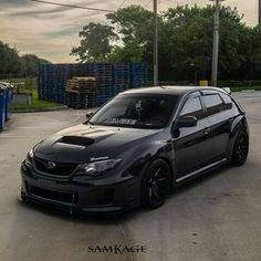 Black beast #SubaruImpreza#HotHatch