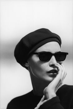 #Atribute to Frames: The Giorgio Armani 1996 Fall/Winter eyewear campaign shot by Peter Lindbergh.