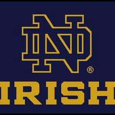 Notre Dame Fighting Irish Football - Perhaps it started because they were the only NCAA team I could see regularly on TV, but, I bought the history, tradition, and high standards and now live and die with the Irish. Notre Dame Football, Nd Football, College Football Teams, Football Quotes, Sports Teams, Watch Football, Notre Dame Logo, Notre Dame Irish, Go Irish