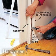 How to fix sticky, noisy or just plain broken pocket doors: