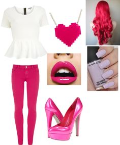 """""""valentine's Dayy(:"""" by mschwittay ❤ liked on Polyvore"""