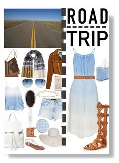 """Road Trip Essentials"" by xoxolua ❤ liked on Polyvore featuring River Island, Alexander Wang, Diane Von Furstenberg, Mansur Gavriel, Nine West, Apt. 9, Christian Dior, Robert Rose, Leonor Greyl and Miss Selfridge"