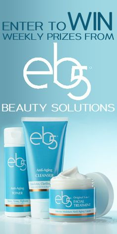 #RePin and Go #Win Weekly #Prizes from eb5 #Beauty Solutions! #skincare #contest VALID UNTIL DEC 31