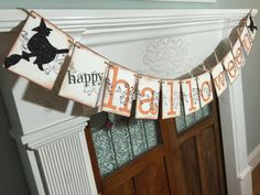 Happy Halloween Banner Halloween Decor Halloween Party