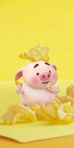 Little Pigs, Little Babies, Pigs Eating, Pig Wallpaper, Cute Piglets, Pig Drawing, Pig Illustration, Cute Birds, Vintage Cartoon