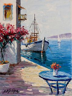 Nikolaos Krideras-Greek painter