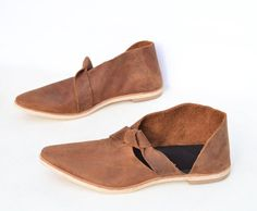 Women's shoes modern leather ballet flats asymmetrical booties brown pointy minimalist handmade ~ Size 6 7 8 9 10 11 12 13 by RileeShoes on Etsy https://www.etsy.com/listing/561675431/womens-shoes-modern-leather-ballet-flats