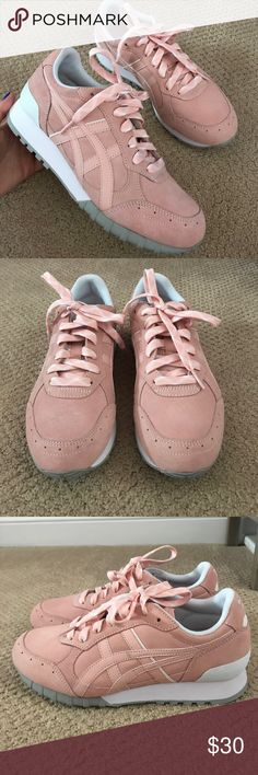 NEW Onitsuka Tiger Womens Shoe Light Pink, Women's US 7 Onitsuka Tiger Shoes Sneakers