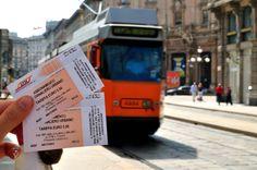 Billete de transporte de Milán Urban, Compost, Transportation