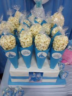 Cindirella birthday popcorn Cenicienta de cumpleaños