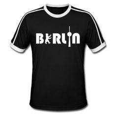 BERLIN Logo retro shirt for men - http://iloveberlin.spreadshirt.de/berlin-men-A6201582