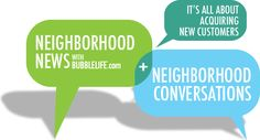 BubbleLife Media - Hyperlocal Marketing for Neighborhood Businesses - Dallas, Fort-Worth Park City, Fort Worth, Conversation, Dallas, The Neighbourhood, Cities, Connection, Community, Marketing