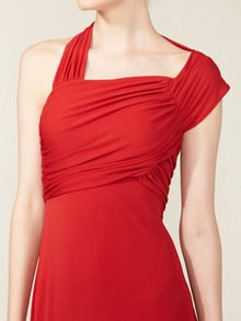 Ruched Bodice Gown by Narciso Rodriguez up to 60% off at Gilt. $799. The back is as gorgeous as the front