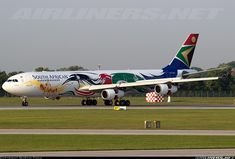 South African Airways ZS-SXD Airbus A340-313X aircraft picture