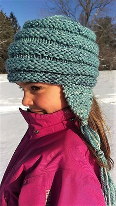 This hat is, by far, my most knit garment. I have taught it in knitting classes, made it (more than once) for everyone in my family, given it as a gift to every single baby I know, and developed a class for Craftsy.com that teaches it. It's the best hat ever! It looks great on everyone and is a great first hat for the knitter who has never worked in the round before. If you need help making it, check out Learn to Knit: My First Hat on Craftsy.com.