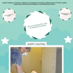 Happy Coating is a Powder Coatings in Coimbatore.The Happy Coating Deals in Powder coating equipments and provide Automation in the painting processes