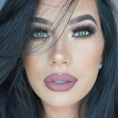 MOTD Close up! #makeup #details #brows @anastasiabeverlyhills dipbrow pamade in dark brown + clear brow gel, #lips @anastasiabeverlyhillsdubai liquid lipstick in Veronica and Dusty Rose, #lashes @vegas_nay in Grand Glomor #shadows @ctilburymakeup dolce vita palette, #anastasiabeverlyhills #vegas_nay #wakeupandmakeup #brianchampagne #me #picoftheday #beauty #blogger #dubai #model #abh #like #vegasnaylashes