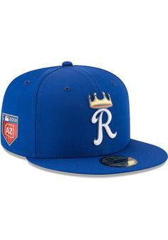 New Era Texas Rangers 59Fifty Fitted Hat Blue Clubhouse Silicone Logo 5950 Cap