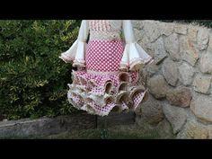 Vestido flamenco de mujer 1ª parte, Como hacer un vestido flamenco. - YouTube Straw Bag, Sewing Patterns, Costura Diy, Crochet, Tutorials, Fashion, Molde, Sour Cream, Dress Patterns