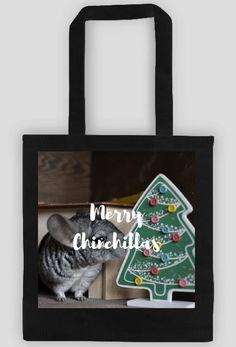 Christmas gift idea for chinchillas fans. Visit store to buy eco bag with chinchillas. | Pomysł na prezent dla miłośnika szynszyli. Odwiedź nasz sklep i kup eko torbę z szynszylą już teraz. (www.uszynszyla.cupsell.pl) #christmas #szynszyla #prezenty #uszynszyla #mrstefano #ecobag #chinchillas #szynszyle