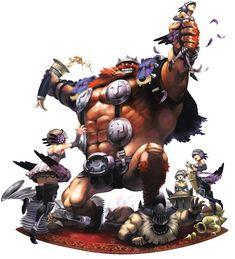 Brigan - Characters & Art - Odin Sphere