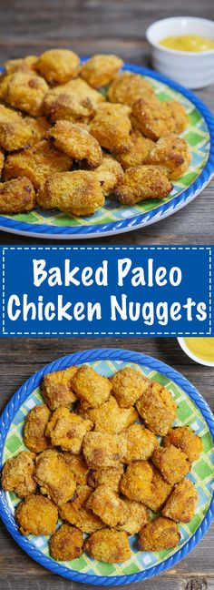 You will love these baked paleo chicken nuggets because they are so tasty AND easy to make!!