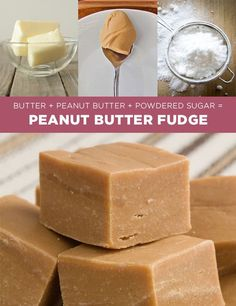 Peanut Butter Fudge | 11 Simple Holiday Treats You Can Make In Four Ingredients Or Fewer