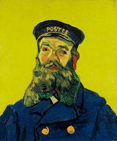 Portrait of Joseph Roulin : Vincent van Gogh.