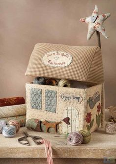 patch house (by born to quilt)
