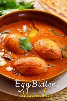 Puri Recipes, Veg Food Recipes, Spicy Food Recipes, Cooking Recipes, Veg Burgers Recipe, Egg Recipes Indian, Butter Masala Recipe, Tastemade Recipes, Chutney