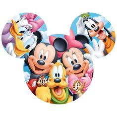 Tenyo Japan Puzzle Disney Mickey Minnie & Friends Teile) - New Ideas Arte Do Mickey Mouse, Mickey Mouse And Friends, Mickey Mouse Clubhouse, Mickey Mouse Birthday, Disney Mickey Mouse, Birthday Cartoon, Elmo Birthday, Dinosaur Birthday, Retro Disney