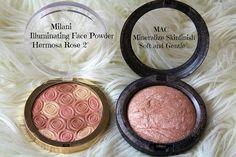 Milani Illuminating FACE Powder and MAC MSF Soft and Gentle