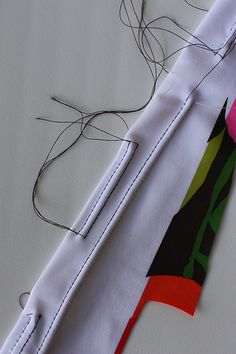 double needle front by Soozs, via Flickr