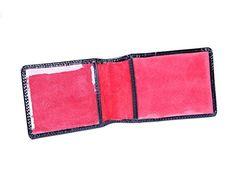 SAGEBROWN Black Patent Croc Oyster Card Holder -- Visit the image link more details.