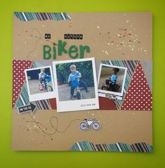 Craft Time: LO my little bikers
