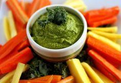 Kale Hummus Wild Rose Detox Diet Recipe Idea- Kale Hummus Wild Rose Detox Diet R… – Frida Mouzon - Detox Recipes Healthy Gluten Free Recipes, Healthy Snacks, Healthy Eating, Wild Rose Detox, Detox Diet Recipes, Detox Foods, Herbal Detox, Breakfast For Kids, Herbalism