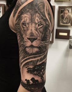 King of the Forests Tattoo