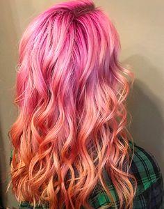 Pink Fantasy Haircolor