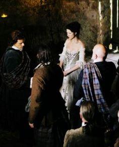 "Outlander ~ Scene from ""The Wedding"""