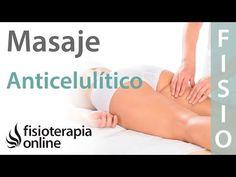Cómo hacer un masaje anticelulítico y reductor de pierna, cadera o muslo (eliminar celulitis) - YouTube #celulitiseliminar
