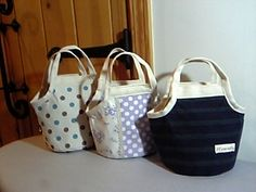round bottom tote, lite tutorial